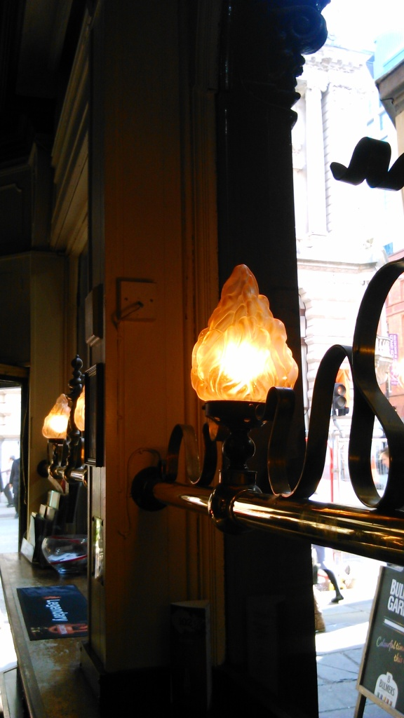 Look at the lamps on that, have you ever sat near them watching the world go by?