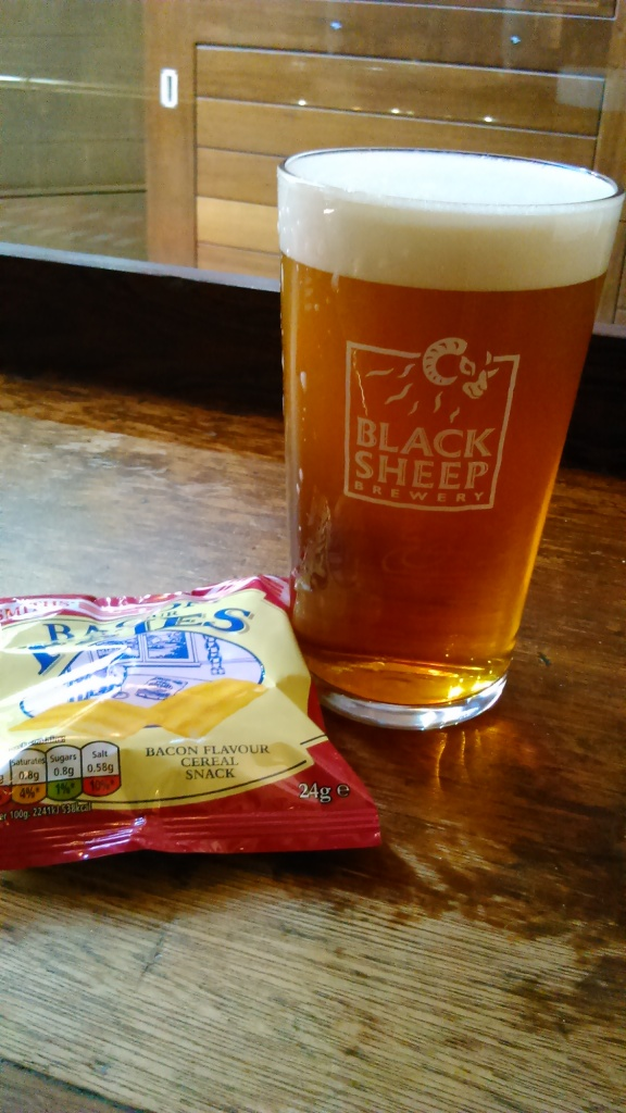 Another pint & some lunch